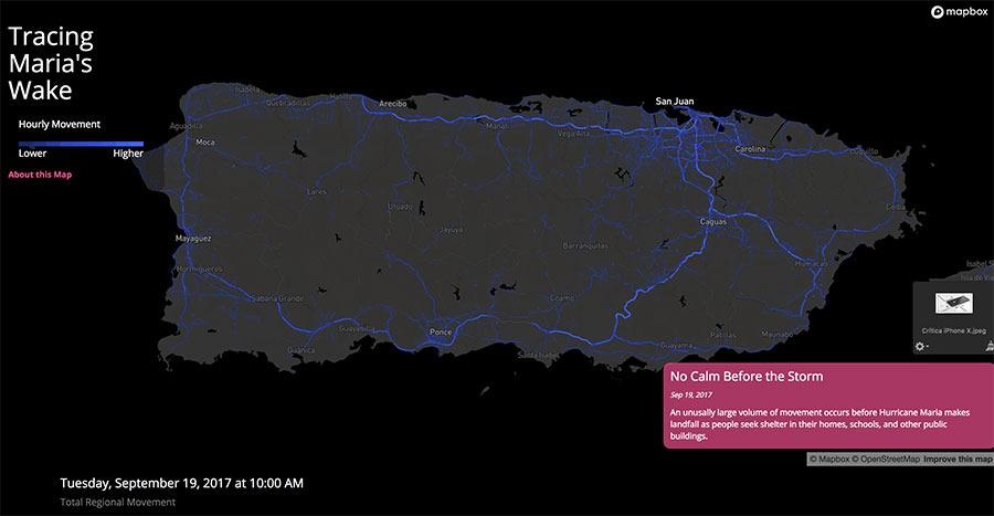 Mapbox telecomunicaciones Puerto Rico