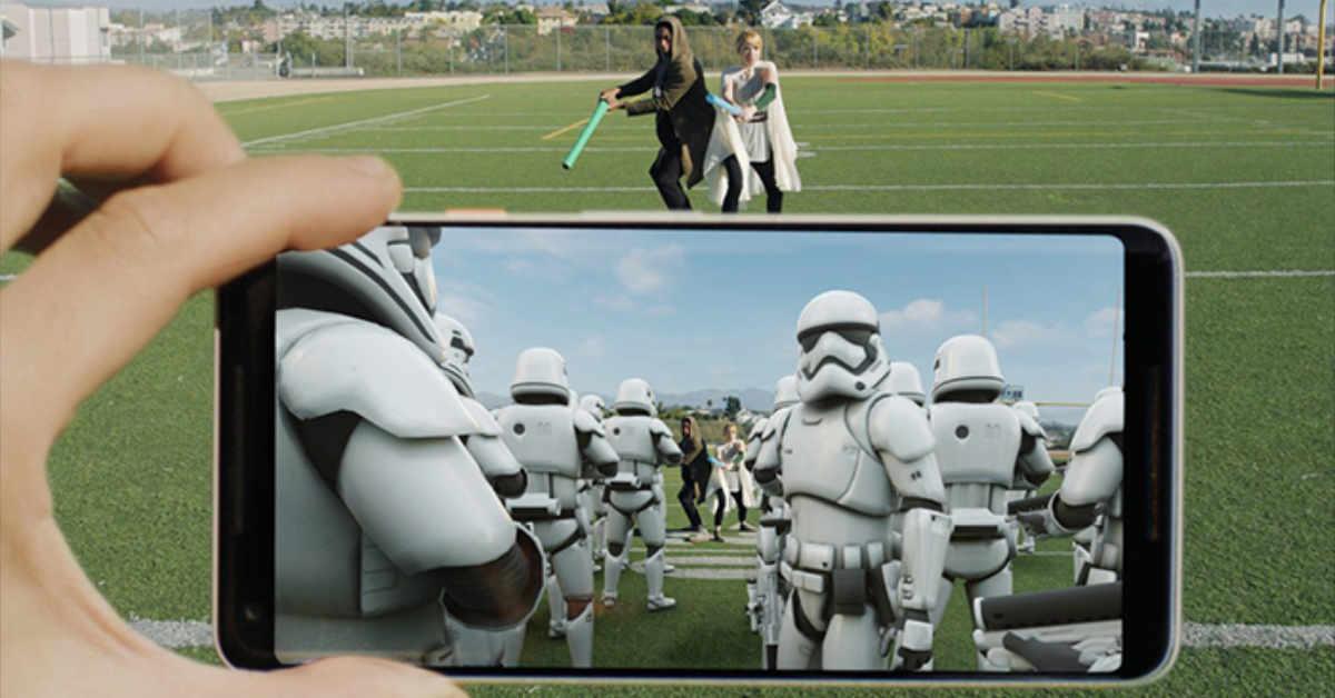 Star Wars Stickers AR Google ARCoreStar Wars Stickers AR Google ARCore