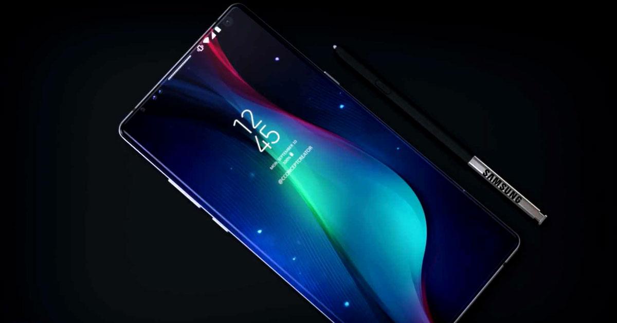 Concepto Samsung Galaxy Note 9