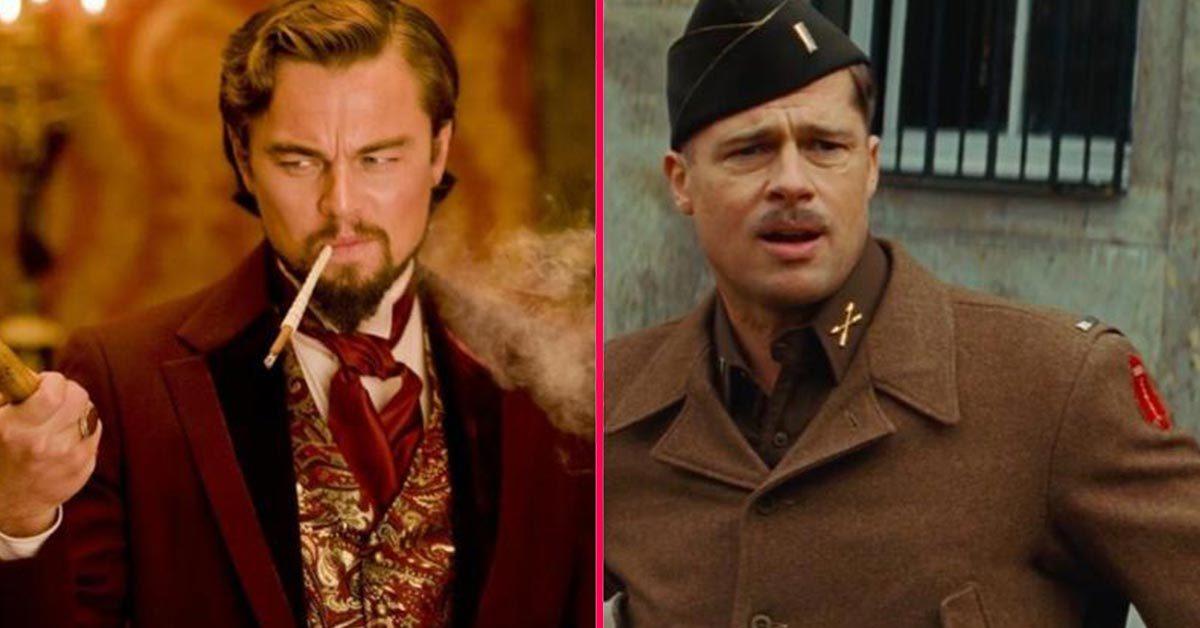 Brad Pitt y Leonardo DiCaprio en Once Upon a Time in Hollywood de Quentin Tarantino