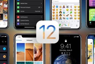 Concepto iOS 12
