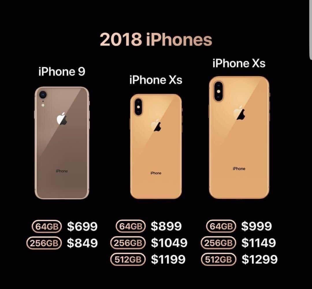 iPhone XS y iPhone XS Plus precios