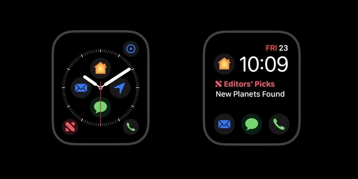 Nuevas complicaciones Apple Watch Series 4