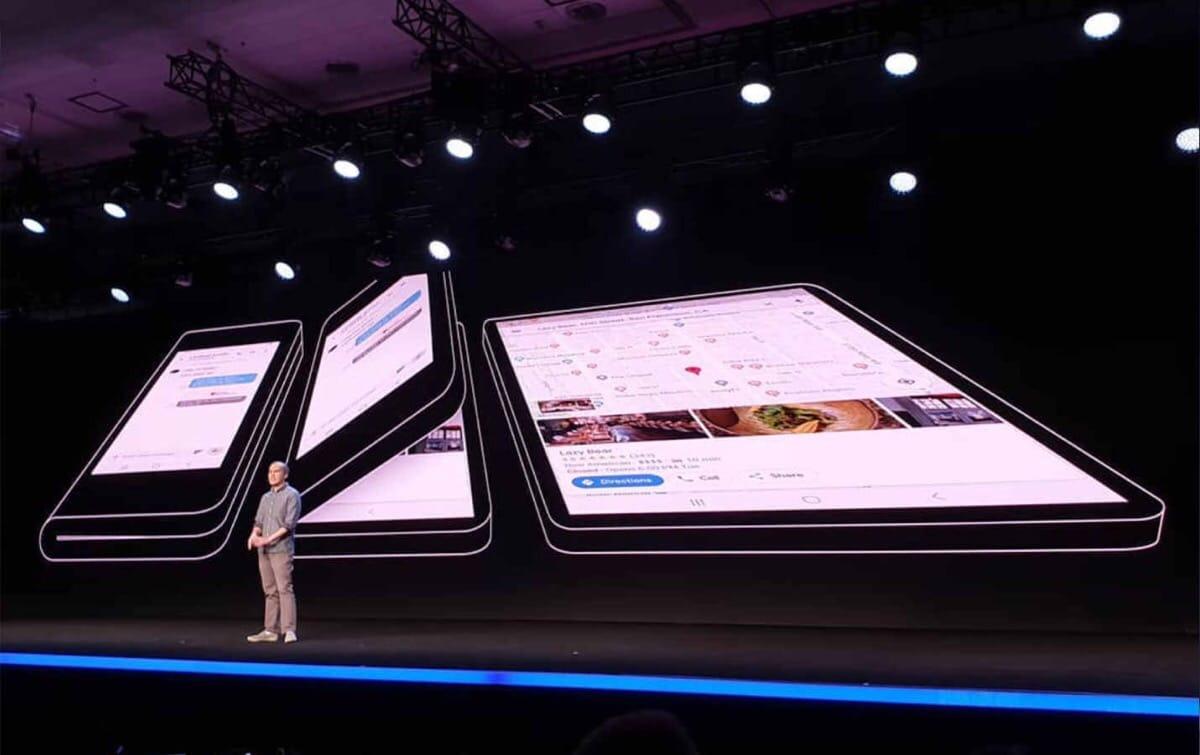 Samsung Infinity Flex pantalla plegable