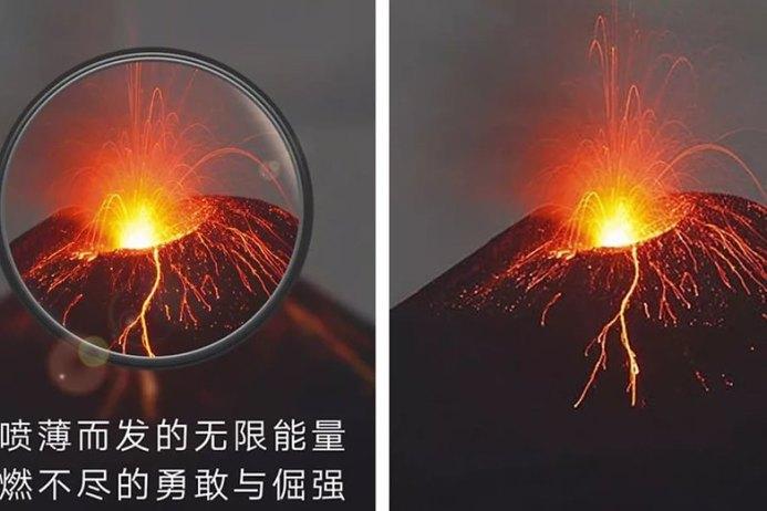 Huawei P30 Pro fake foto