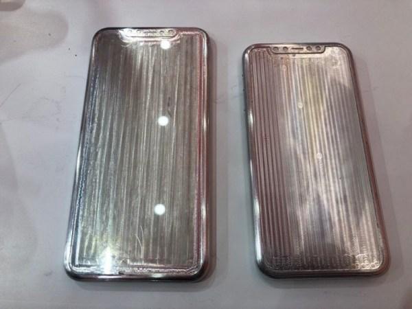 Alegados moldes iPhone XI
