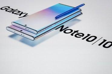 Samsung Galaxy Note10 y Galaxy Note10+