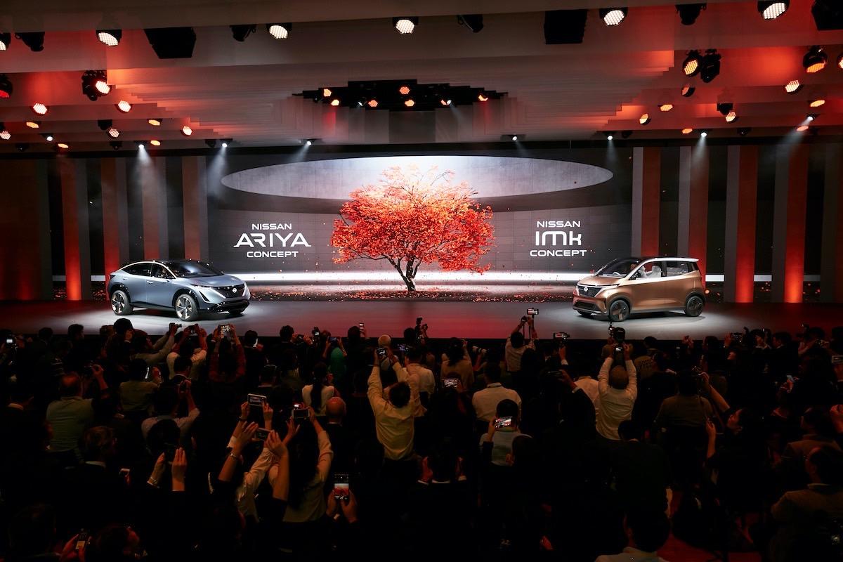 Tokyo Motor Show - Nissan Ariya | Nissan IMk