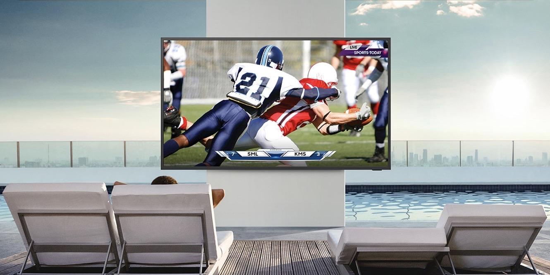 Samsung Terrace 4K QLED Smart TV