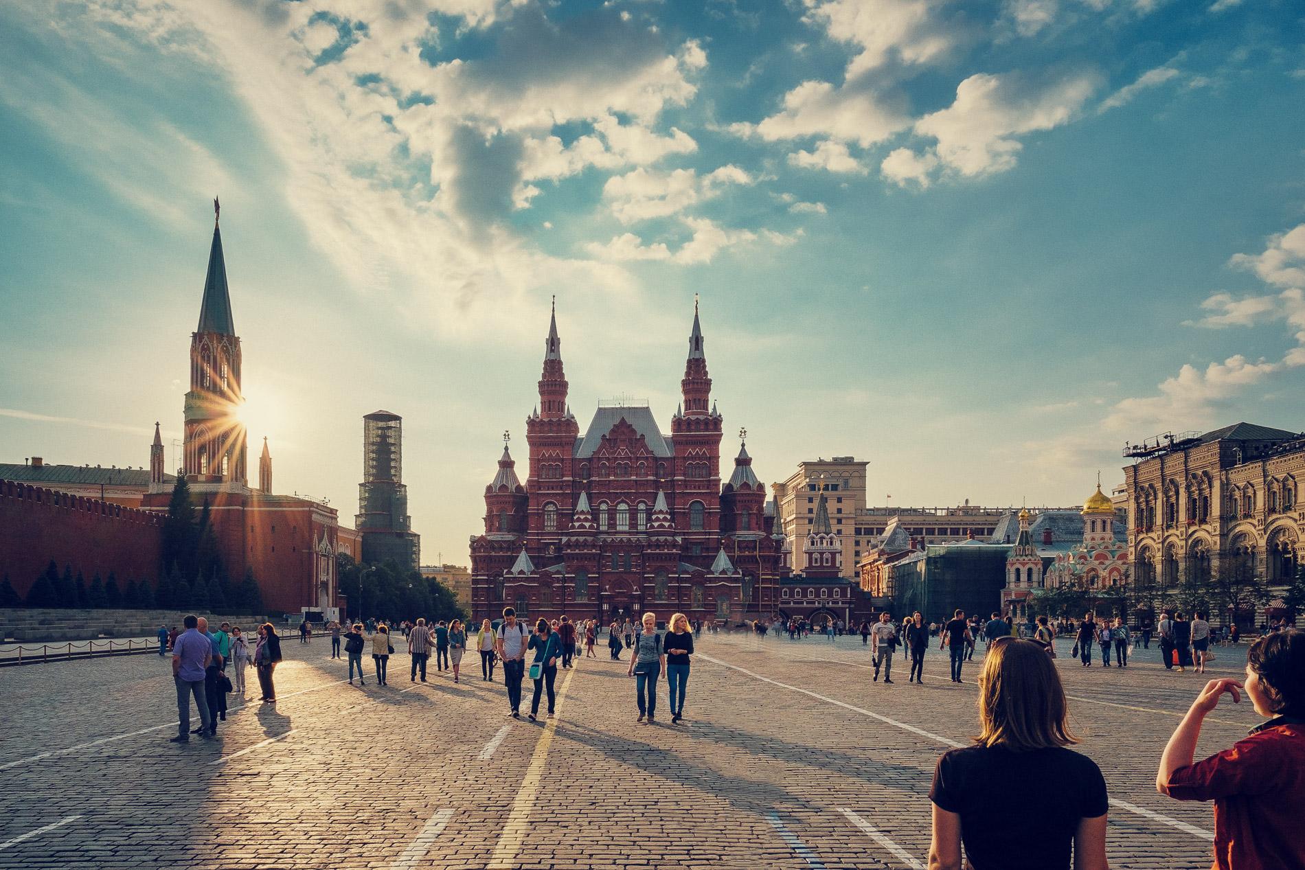 Moskau // Roter Platz