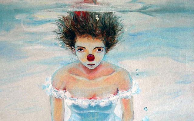 Da Mao Painting Wedding Clown in Water