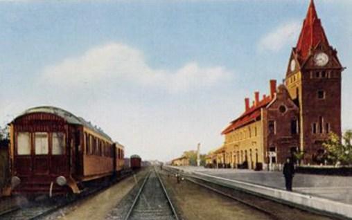 Old Qingdao Train Station German History