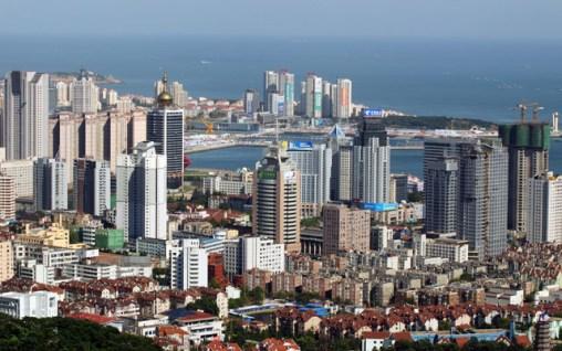 View of Qingdao Downtown