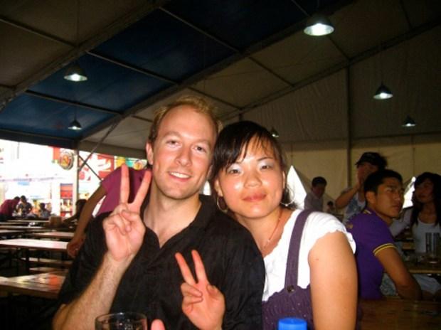 Qingdao Beer Festival Friends Peace