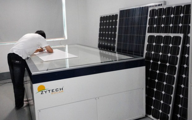 Made in Qingdao Solar Panels Zytech