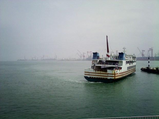 Qingdao Photos Clay Army Ferry Kaifaqu