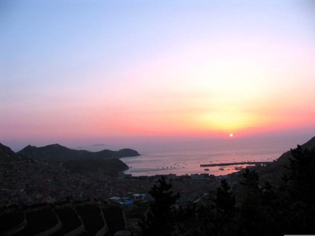 Qingdao Photos Laoshan Sunrise