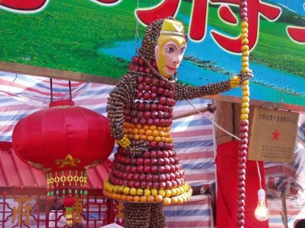 Candied Hawthorn Festival Qingdao Monkey King
