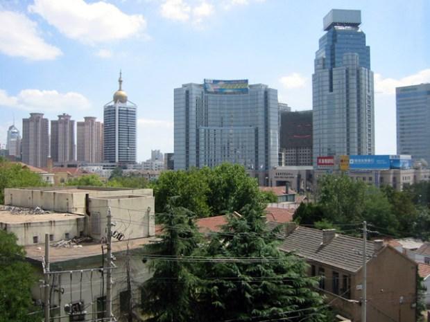 Qingdao Photos City View Yancheng Lu