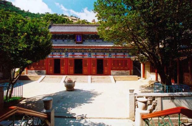 Temple Laoshan Qingdao Courtyard
