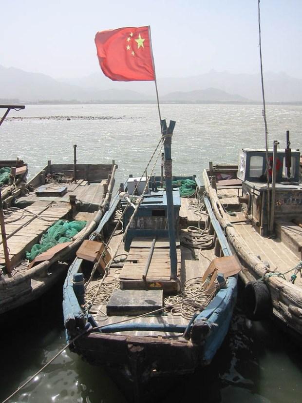 Qingdao Photos Clay Army V Boats Yangkou
