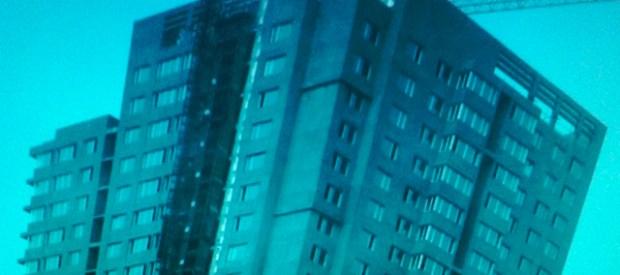 Qingdao Photos Sun Lin Building Blue