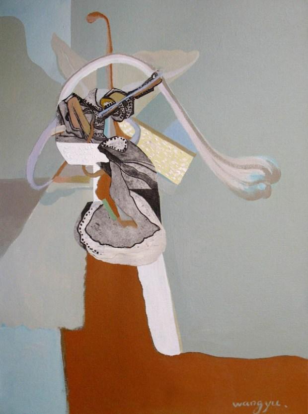 Qingdao Artist Wang Yu 隐形的翅膀系列之一