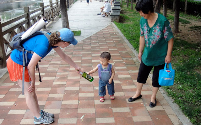 Qingdao Hash House Harriers Start Young