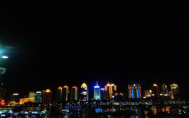 Qingdao City Night View