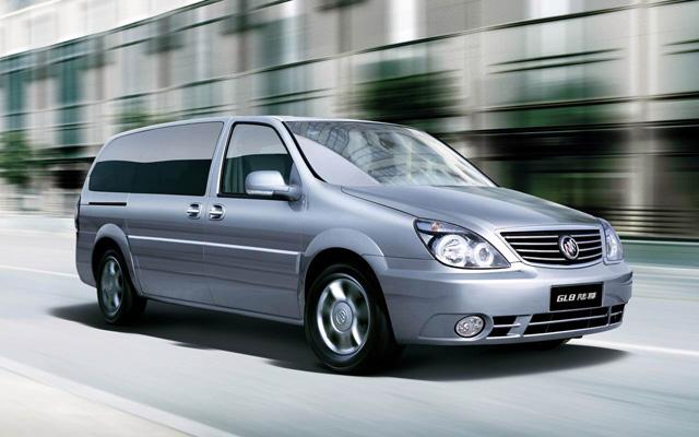Rent A Car China Qingdao Buick Minivan