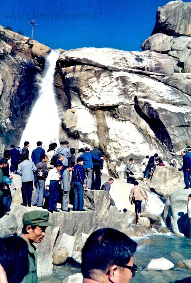 Qingdao Photos 1980s Laoshan Waterfall