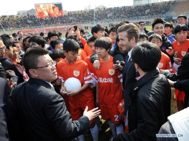 Beckham Qingdao Youth Jonoon Club Tiantai Stadium