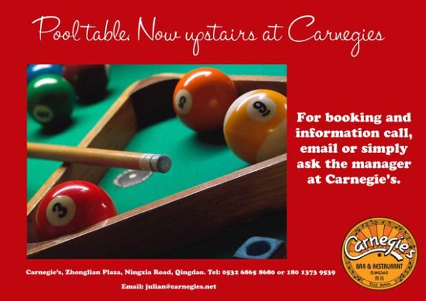Pool Carnegie's Qingdao