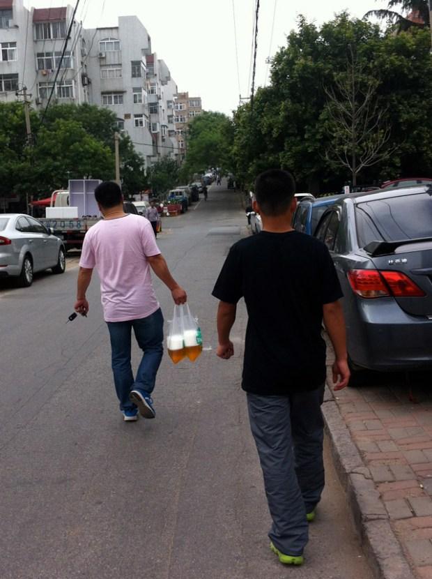 Impressions of Qingdao Rachel Beer in a bag