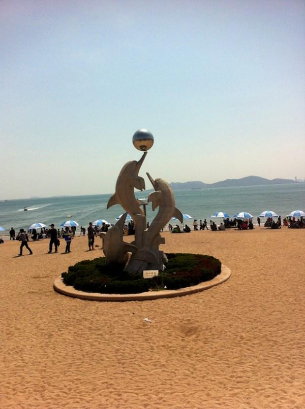 Impressions of Qingdao Rachel Number 1 beach