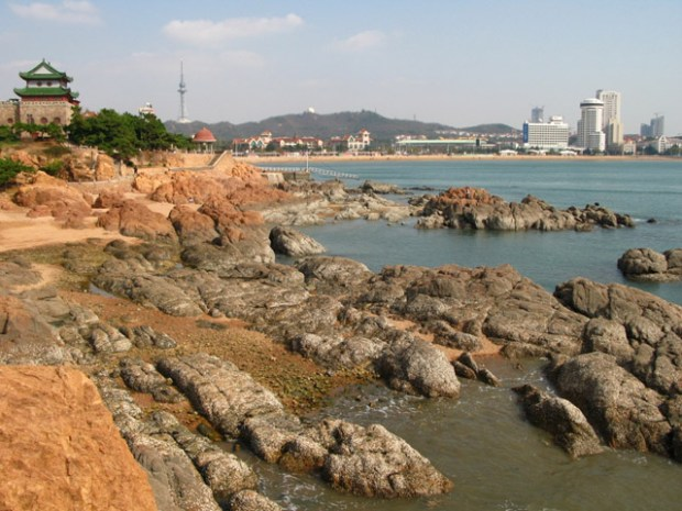 Qingdao Photos Momo Huiquan Bay Rocks Qingdao Aquarium