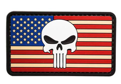 Custom Flag Rubber Label Patch