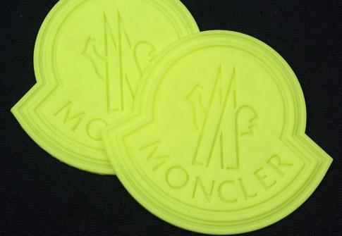 Bulk Custom Debossed Brand Logo Luminous Soft PVC Rubber Patches for Clothes