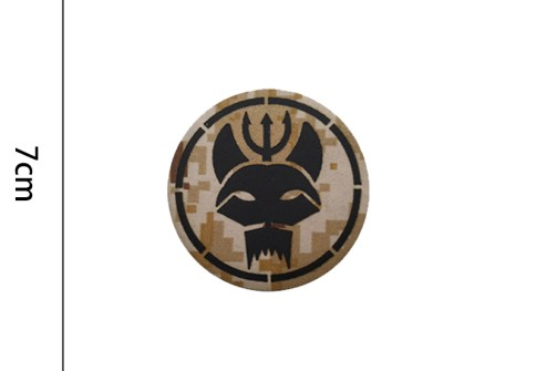Navy SEALs Trident Cat Head Custom IR Armband Morale Tactical Badges CP Camouflage Action Sign Patches