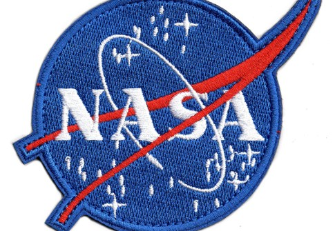 Wholesale free design nasa patch custom nasa embroidered patch