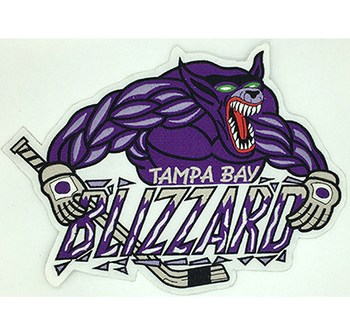 Fast and large number of embroidery hockey patch supplies