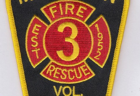 High-quality fire department custom-embroidered patches on clothing