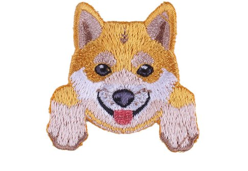 Different Styles Dog Animal Iron on Embroidery Patch