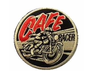 Embroidered motorcycle biker patch made in china