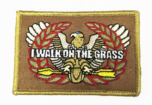 High quality custom embroidery military tactical badge patches for uniform