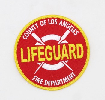 Custom High Quality Security Guard Uniform Embroidery Patches