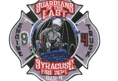 Iron On Patch Embroidered Fire Department uniform patches