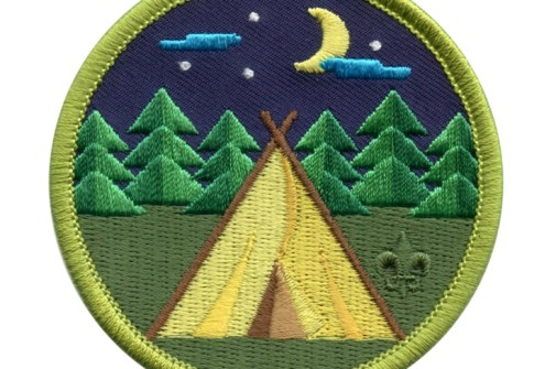 Embroidery Summer Camp Scout Patches
