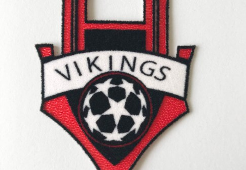 Factory Direct Flocking Patch Tatami Heat Transfer Tatami Flock Soccer Patches