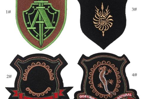 Custom Embroidery Custom Logo Embroidery Army Patches for Military Uniform Patches For Clothing